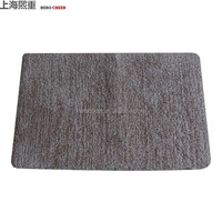 Fashion Wholesale Cheap 100% polyester with Canvas backing bath fllooring rugs and mats, 2016 new products bathroom rug and mat