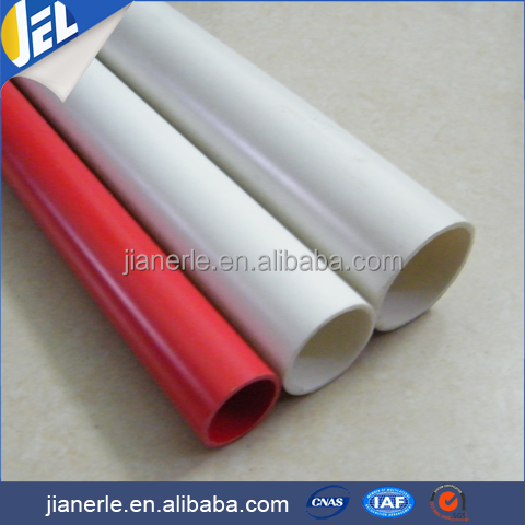 Pvc Rainwater Pipe , Factory Price Plastic Roll Pipe