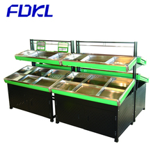 FDKL supermarket vegetable and fruit display rack, fruit display stand
