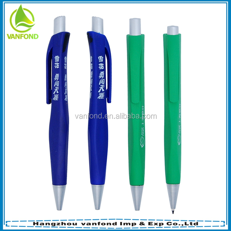 Hot selling customized logo character ball pen