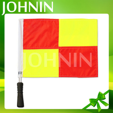 High Quality Custom Polyester Soccer Football Club Sport Referee Flag