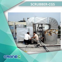 Exhaust Emission Control Industrial Water Scrubber