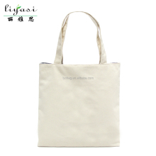 White Blank Printed Logo Cotton Canvas Fabric Tote Cloth Bag
