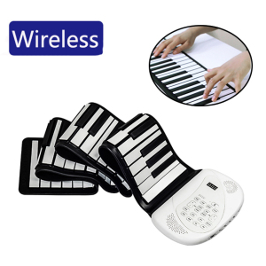 Wholesale portable silicone 88 key music piano toy self-study children piano