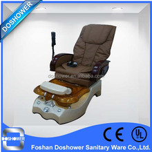 Powersaving hot sale vibration air bag massage electrical adjustment manicure chair nail salon furniture