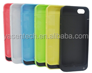 Portable 3500mah Mobile battery case for iPhone 6 with/without leather flip cover