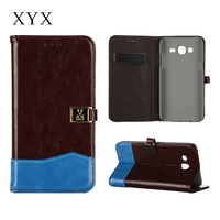 custom android mobile phone wallet mobile leather case for moto XT910