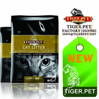 new Peach fragrance bentonite cat litter