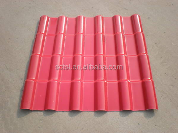 Construction Real Estate AsA Synthetic Resin Roof Tile