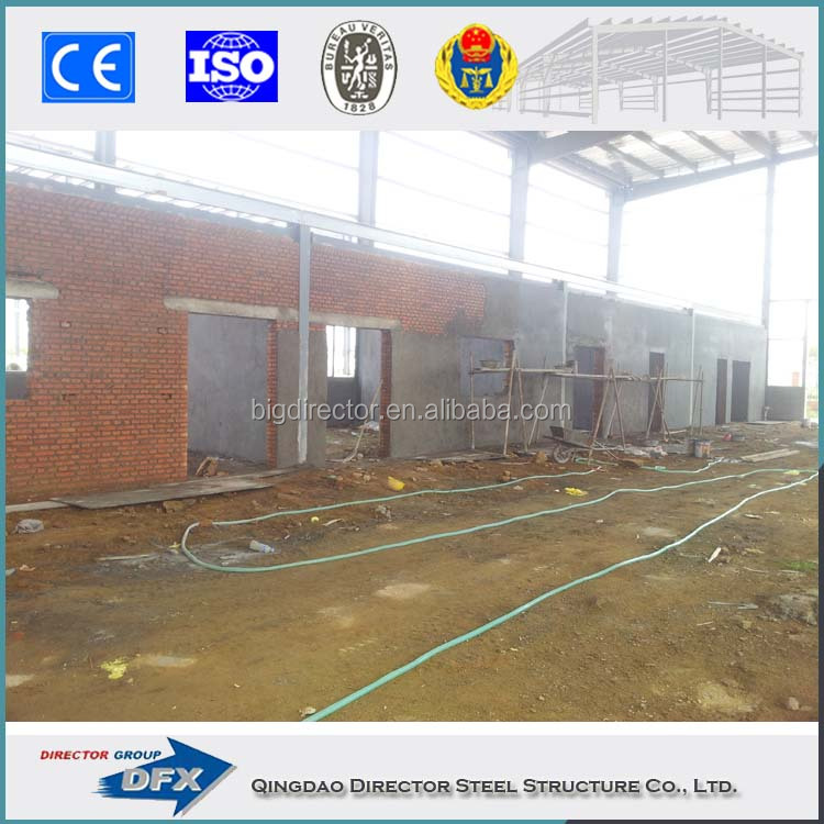 High quality steel structure building warehouse for sale