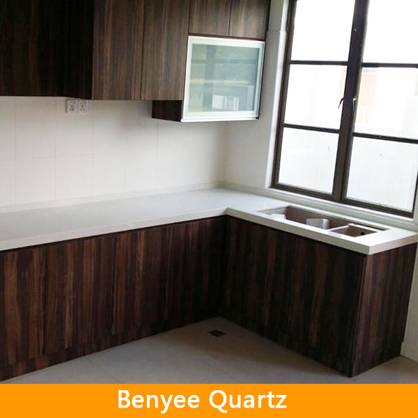 L shape laminated kitchen counter tops price