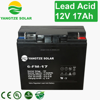 Famous saft rechargeable battery 12v 17ah
