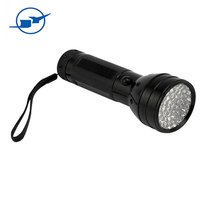 hot selling innovative design rechargeable multifunctional 395 NM 51 led new york uv led flashlight Ultraviolet Torch AAA cell