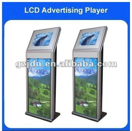 17-22 inch HD interactive touch lcd digital advertising with poster