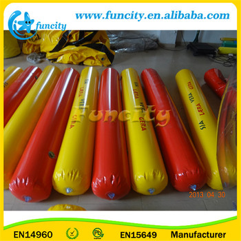 Customizable size inflatable floating tube for sale