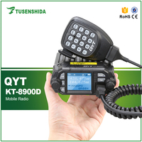 QYT KT-8900D Dual band 25W car radio with bluetooth speaker and monitor function talkie walkie