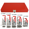 131pcs tool kit | 1/4-1/2 thread repair tool kit for auto | damaged hole | UNC/UNF