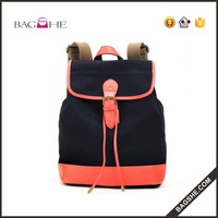China manufacturer canvas backpack drawstring bags for women