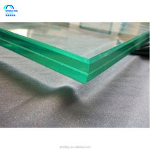 large panel standard size 2140*3300 clear Laminated Glass 6.38 331