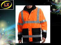 Waterproof Fluorescent Jacket High Vis