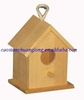 lovely unfinished portable wooden bird house wholesale