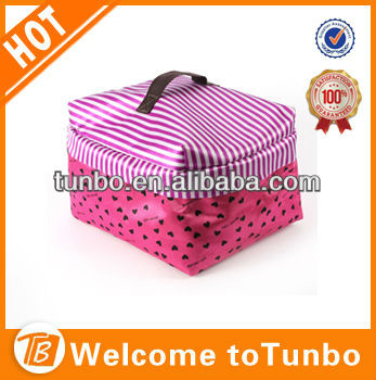 Folding Canvas Cosmetic Bag Make Up Bag