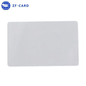 Factory direct printable blank pvc id card for zebra printer