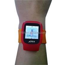 "1.8"" Watch Shape MP4 Player with Clip and TF Card Reader"