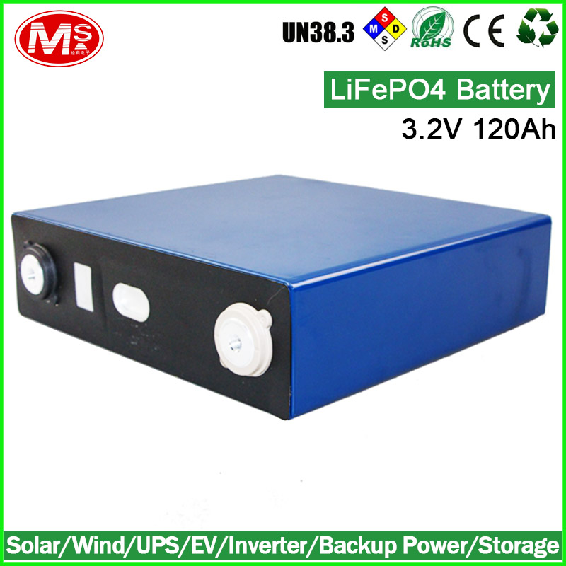 solar battery pack 3.2V 120Ah lifepo4 battery cell for electric forklift