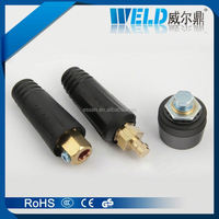 british style welding cable connector, portable diesel welding generator, welding boss