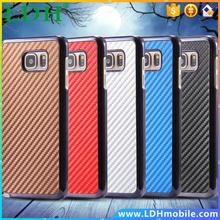 Note 5 Carbon Fiber Hard PC Cell Phone Case For Samsung Galaxy Note 5 N920K N920A Durable Dirt-resistant Protective Back Cover