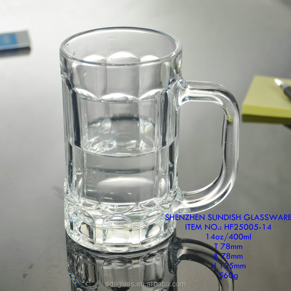 400ml glass mug beer cups cheap beer stein