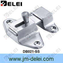 Butterfly shape surface door bolt