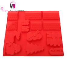 Custom Food Grade 3D Different Shape Silicone Cupcake Baking Molds