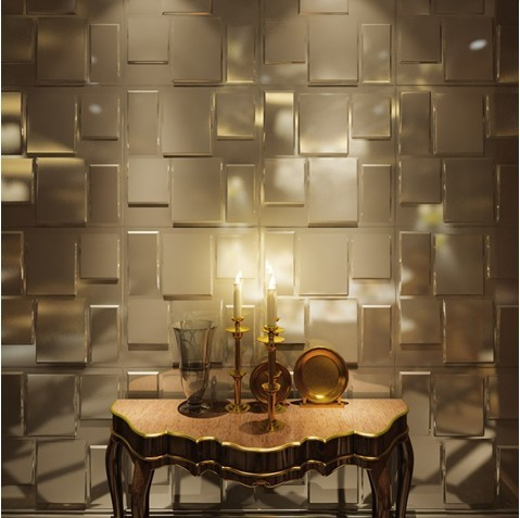 Interior decoration pvc 3d wall panel for bathroom wall for 3d wall decoration panel