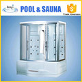 Cheap small White Acrylic outdoor steam shower room enclosure outdoor