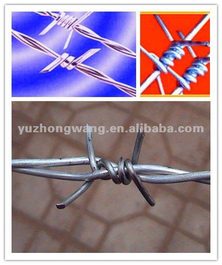 Galvanized Twisted Barbed Wire Types for Animal Fence Netting