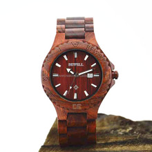 2016 hot sale wood vogue watch