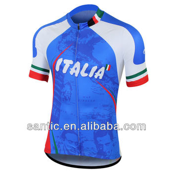 High Quantity Sublimation Flag Cycling Jerseys