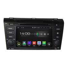 Wholesale promotional Quad core 1024*600 with GPS+IPOD+BT+Radio+AUX IN+DVR car dvd player for OLD MAZDA 3