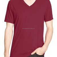 Short Sleeve V Neck T Shirt