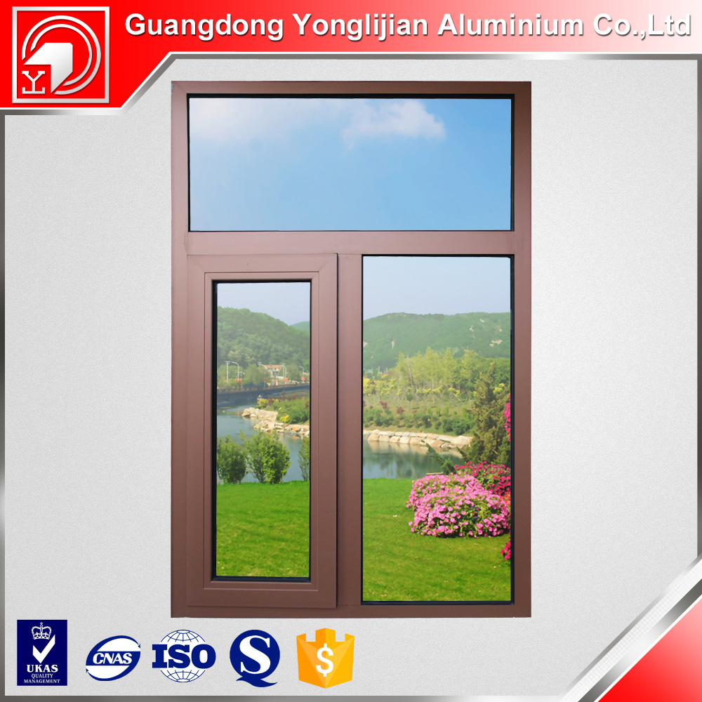 6063 t5 anodize brown aluminum window extrusion proflies