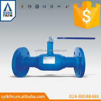 New design long stem 1.5 inch stainless steel ball valve used for oil and gas pipeline