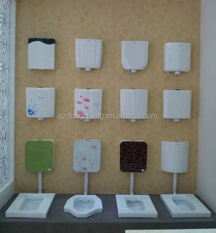 Bathroom Ceramic Squat Toilet With Conceal Water Tank