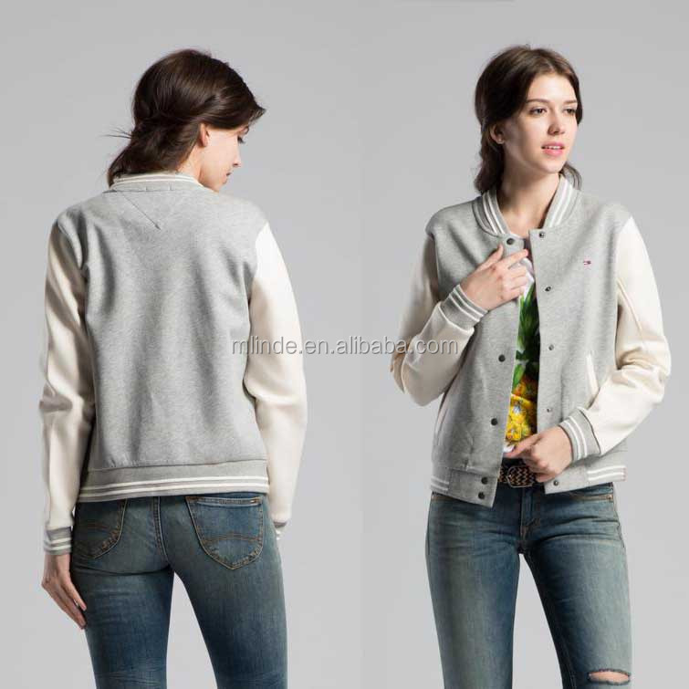 New Atrrivals Women Korean Style Design Scool Juniors Baseball Cardigan Sweaters Casual Sweater Wholesale
