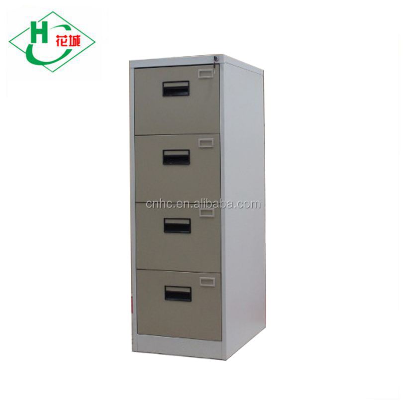 equipment used for workshop steel bookcase cabinet with 4 drawer