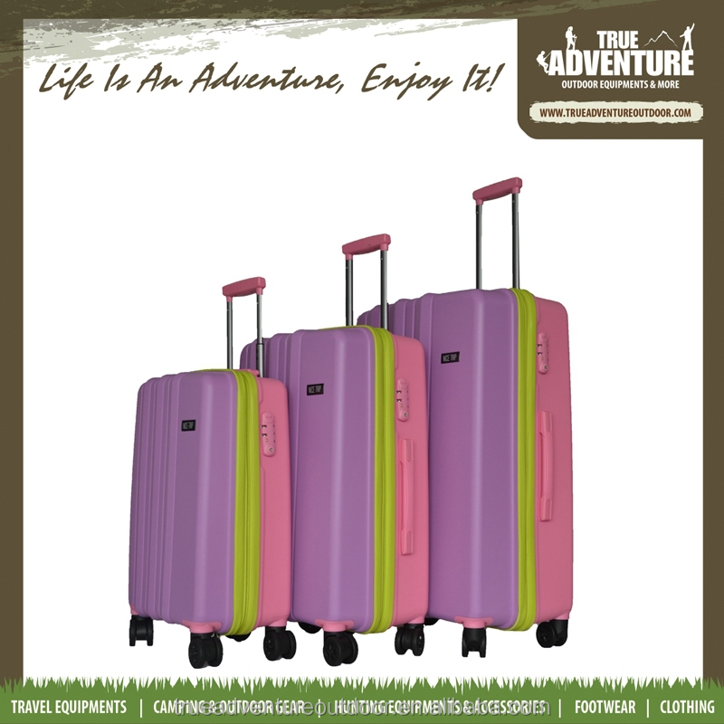 TB6-002 Nice Trip Outdoor High Quality Coloful Carry-on Trolley 20,24,28 Inches 100% Travelling PP Luggage