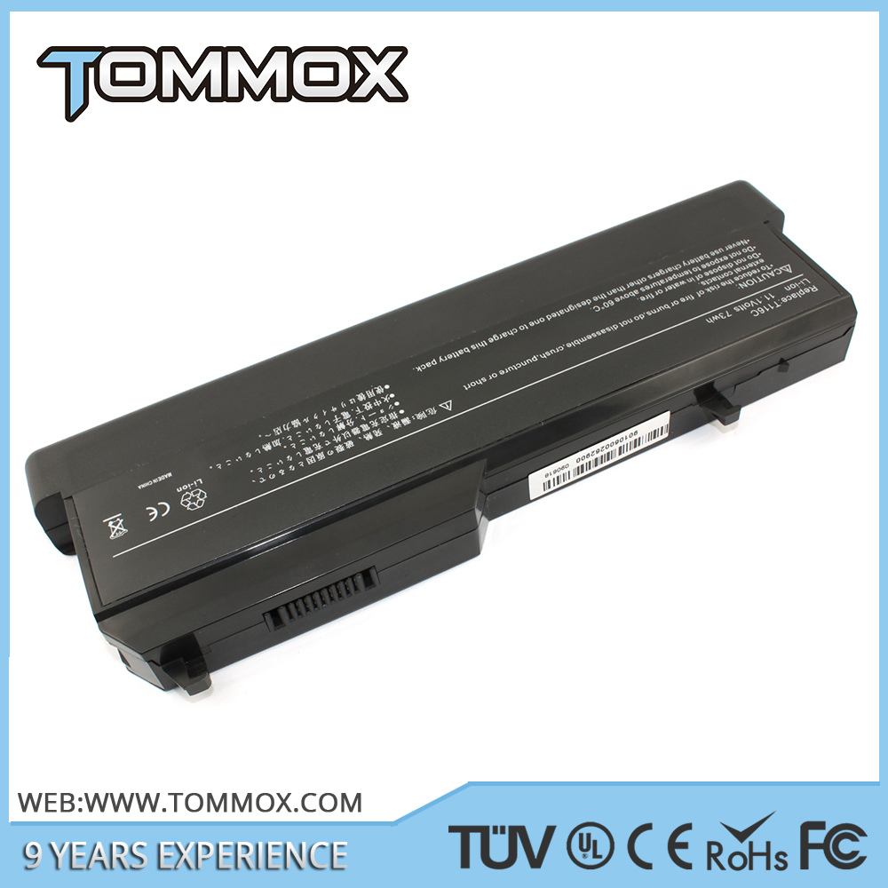 generic laptop battery for dell with 14.4v 37wh laptop for dell battery
