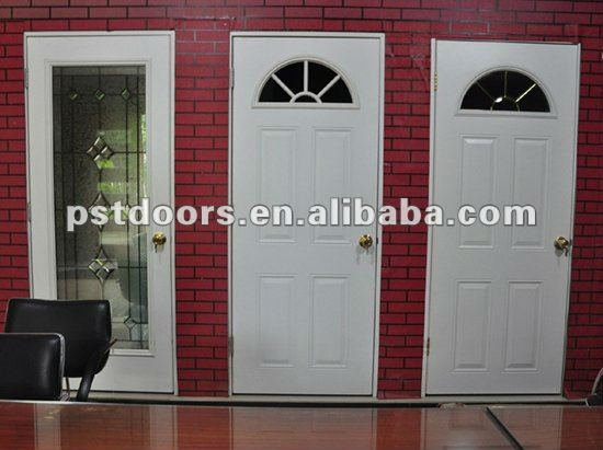 pvc bathroom door price, door inserts glsaa,steel glass door