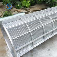 wedge wire screen reverse roll filter tube johnson wire screens